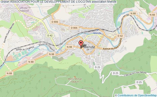 plan association Association Pour Le Developpement De L'occitan