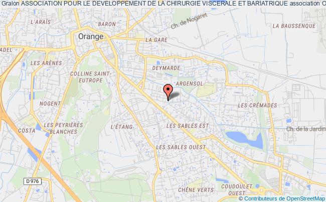 plan association Association Pour Le Developpement De La Chirurgie Viscerale Et Bariatrique