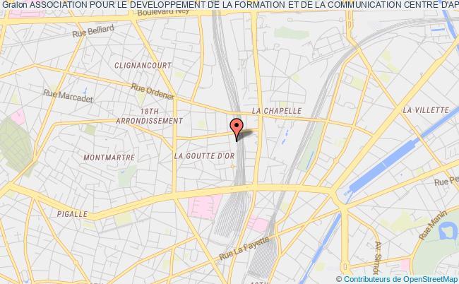 plan association Association Pour Le Developpement De La Formation Et De La Communication Centre D'appui Multimedia Adfc Camm