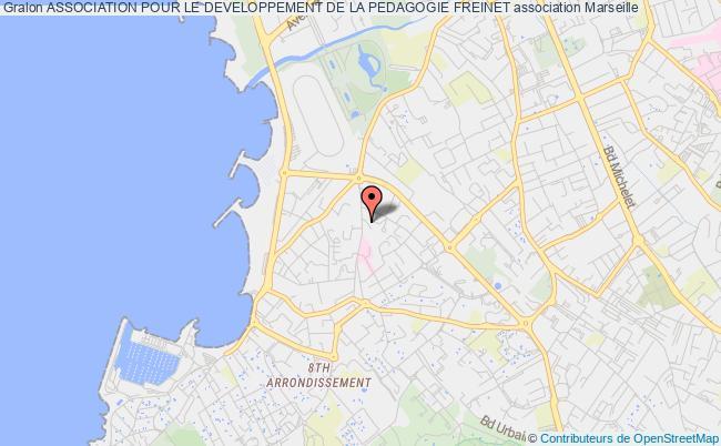 plan association Association Pour Le Developpement De La Pedagogie Freinet Marseille