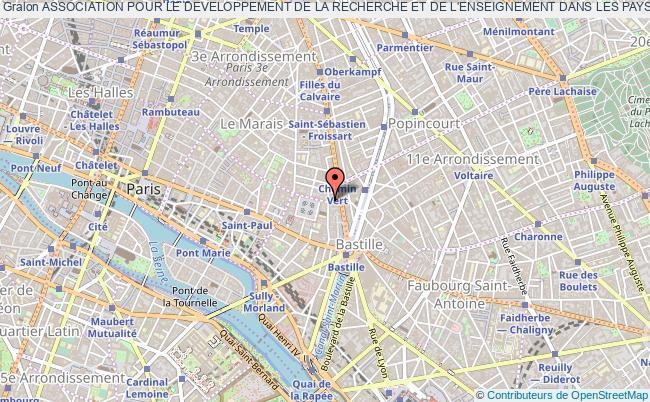 plan association Association Pour Le Developpement De La Recherche Et De L'enseignement Dans Les Pays D'afrique Francophones (adreaf)