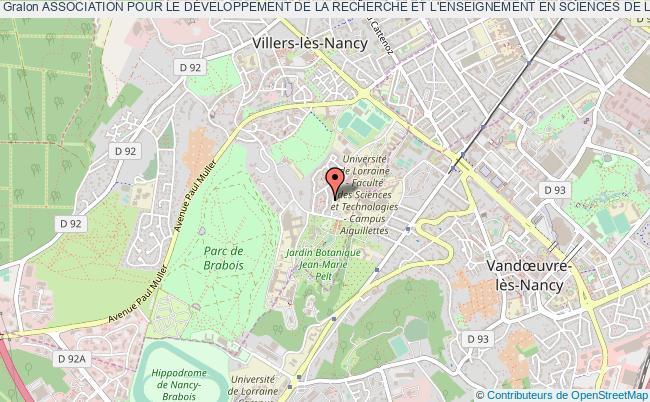 plan association Association Pour Le DÉveloppement De La Recherche Et L'enseignement En Sciences De La Vie Et De La SantÉ En Europe