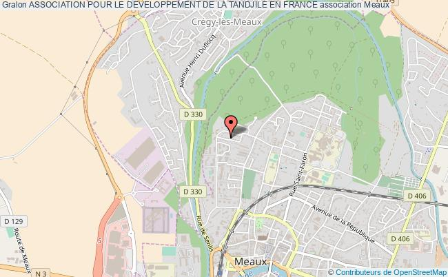plan association Association Pour Le Developpement De La Tandjile En France