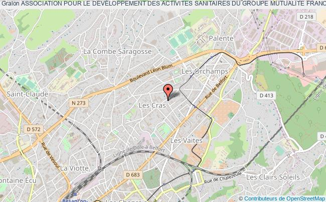 plan association Association Pour Le Developpement Des Activites Sanitaires Du Groupe Mutualite Francaise Doubs (adasgmfd)