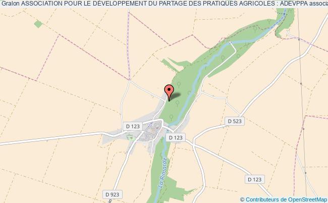 plan association Association Pour Le DÉveloppement Du Partage Des Pratiques Agricoles: Adevppa