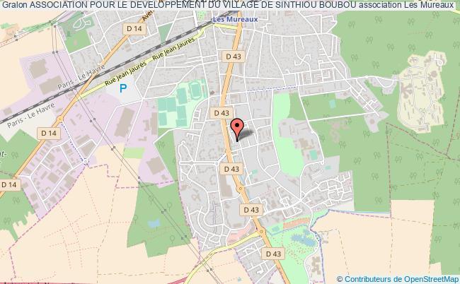 plan association Association Pour Le Developpement Du Village De Sinthiou Boubou Les   Mureaux