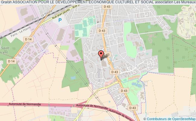 plan association Association Pour Le Developpement Economique Culturel Et Social Les Mureaux