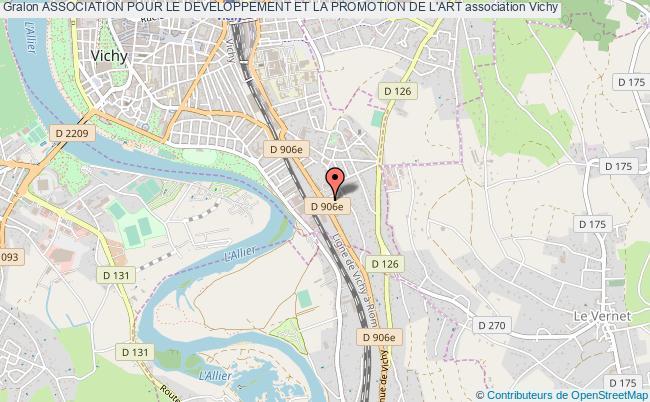 plan association Association Pour Le Developpement Et La Promotion De L'art