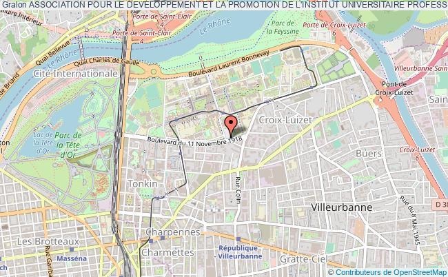 plan association Association Pour Le Developpement Et La Promotion De L'institut Universitaire Professionnalise Impms De L'universite De Lyon 1
