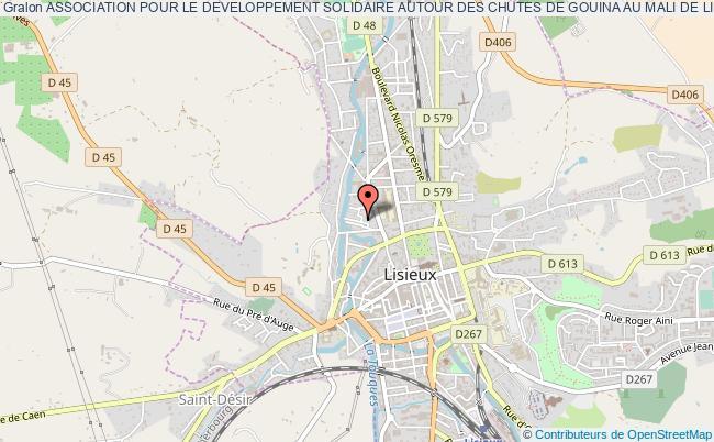 plan association Association Pour Le Developpement Solidaire Autour Des Chutes De Gouina Au Mali De Lisieux