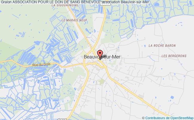 plan association Association Pour Le Don De Sang Benevole