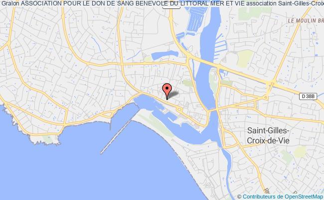 plan association Association Pour Le Don De Sang Benevole Du Littoral Mer Et Vie