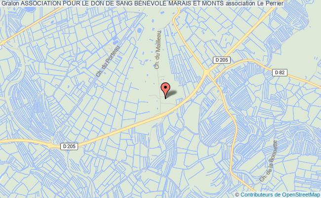 plan association Association Pour Le Don Du Sang Benevole Soullans