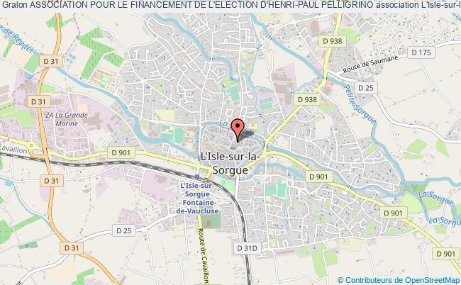 plan association Association Pour Le Financement De L'election D'henri-paul Pelligrino