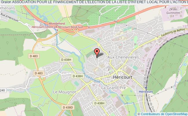 plan association Association Pour Le Financement De L'election De La Liste D'interet Local Pour L'action Et La Securite (a.f.e.l.i.l.a.s.)