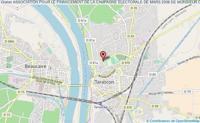plan association Association Pour Le Financement De La Campagne Electorale De Mars 2008 De Monsieur Charles Fabre