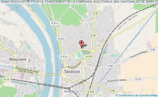 plan association Association Pour Le Financement De La Campagne Electorale Des Cantonales De Mars 2011 De Charles Fabre