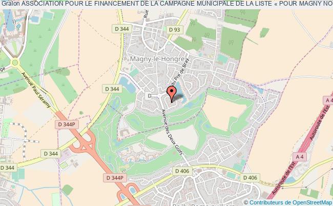 plan association Association Pour Le Financement De La Campagne Municipale De La Liste « Pour Magny Notre Ville » Magny-le-Hongre