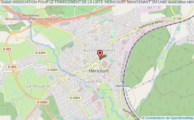 plan association Association Pour Le Financement De La Liste 'hericourt Maintenant' (aflhm)