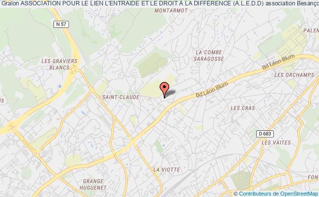 plan association Association Pour Le Lien L'entraide Et Le Droit À La DiffÉrence (a.l.e.d.d)