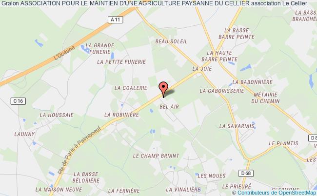 plan association Association Pour Le Maintien D'une Agriculture Paysanne Du Cellier