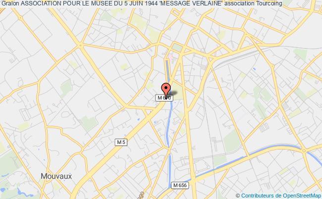 plan association Association Pour Le Musee Du 5 Juin 1944 'message Verlaine'