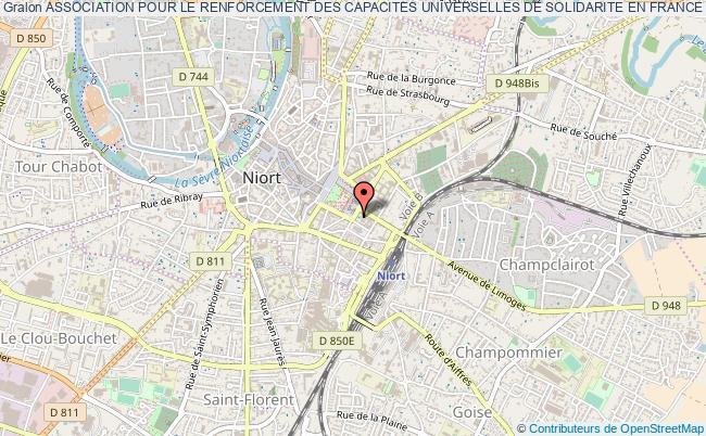 plan association Association Pour Le Renforcement Des Capacites Universelles De Solidarite En France