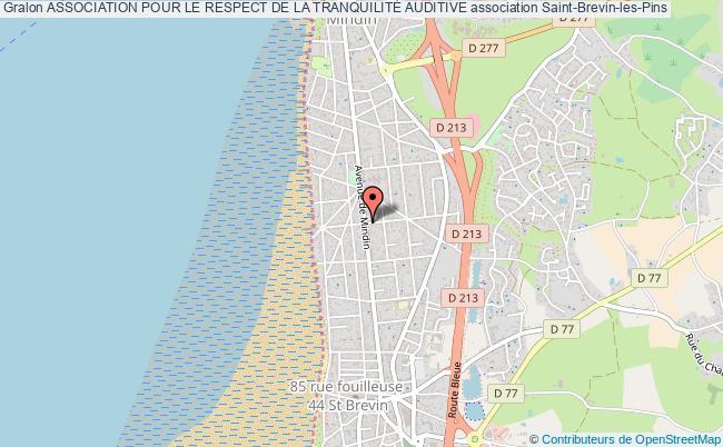 plan association Association Pour Le Respect De La TranquilitÉ Auditive