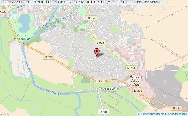 plan association Association Pour Le Rugby En Lorraine Et Plus (a.r.lor Et +)