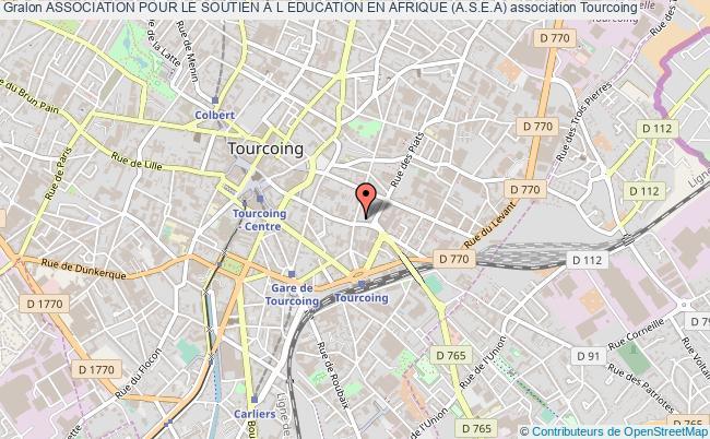 plan association Association Pour Le Soutien À L Education En Afrique (a.s.e.a)