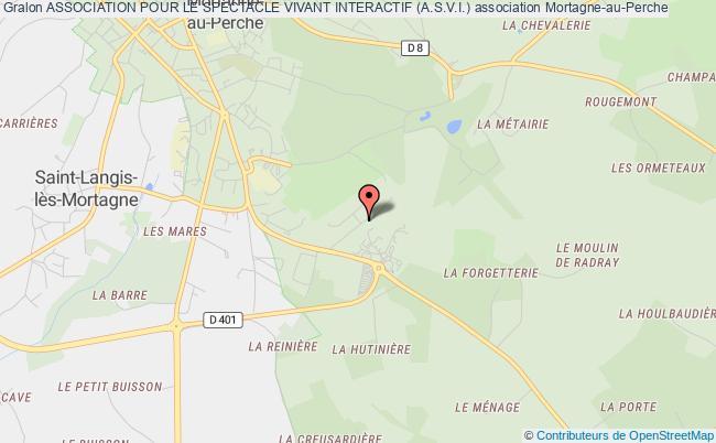 plan association Association Pour Le Spectacle Vivant Interactif (a.s.v.i.)