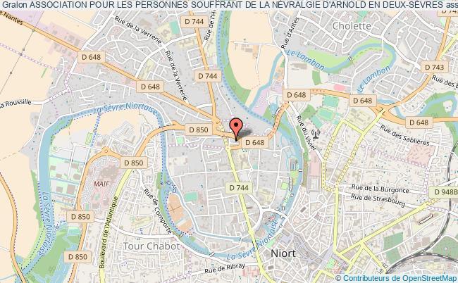 plan association Association Pour Les Personnes Souffrant De La NÉvralgie D'arnold En Deux-sÈvres