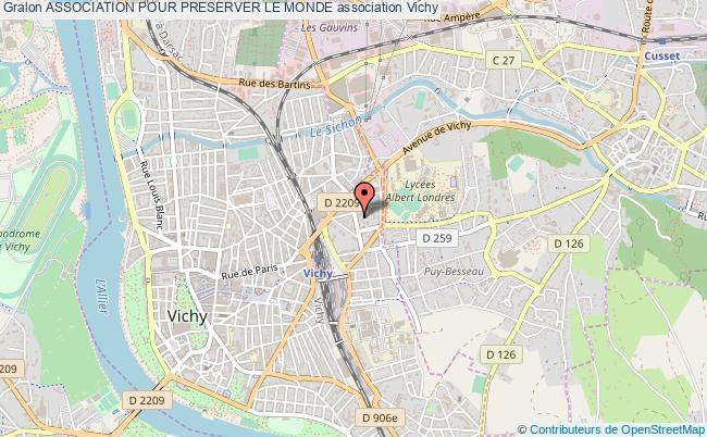 plan association Association Pour Preserver Le Monde