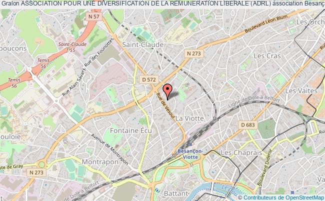 plan association Association Pour Une Diversification De La Remuneration Liberale (adrl)