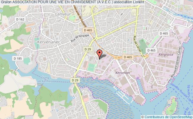 plan association Association Pour Une Vie En Changement (a.v.e.c.)