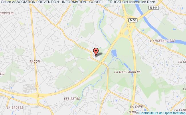plan association Association Prevention - Information - Conseil - Education