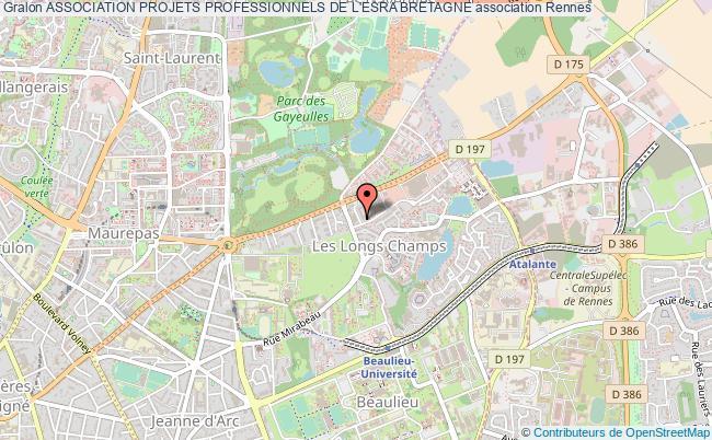 plan association Association Projets Professionnels De L'esra Bretagne