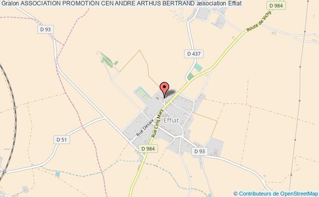 plan association Association Promotion Cen Andre Arthus Bertrand