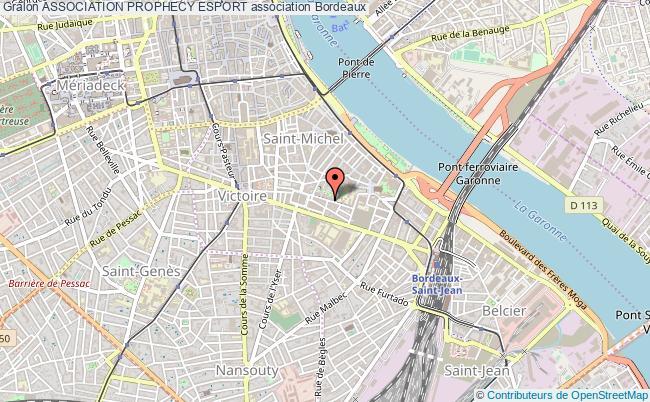 plan association Association Prophecy Esport Bordeaux