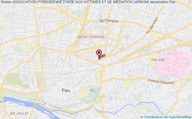 plan association Association Pyreneenne D'aide Aux Victimes Et De Mediation (apavim)