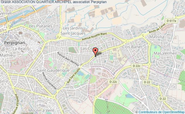 plan association Association Quartier Archipel