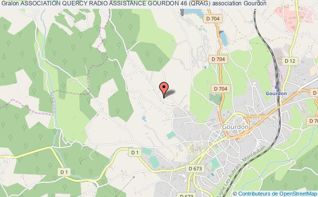plan association Association Quercy Radio Assistance Gourdon 46 (qrag)