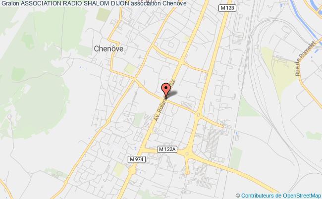plan association Association Radio Shalom Dijon