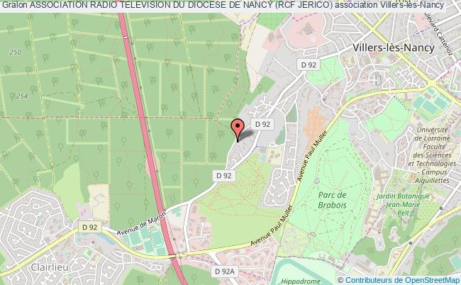 plan association Association Radio Television Du Diocese De Nancy (rcf Jerico)