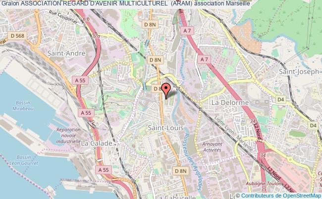 plan association Association Regard D'avenir Multiculturel  (aram) Marseille