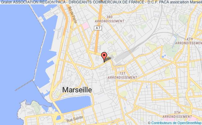 plan association Association Region Paca - Dirigeants Commerciaux De France - D.c.f. Paca