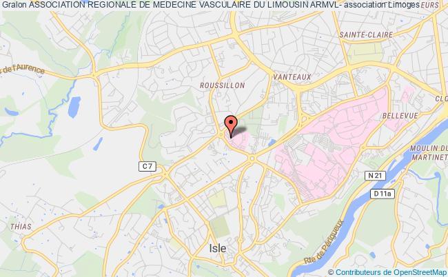 plan association Association Regionale De Medecine Vasculaire Du Limousin Armvl-