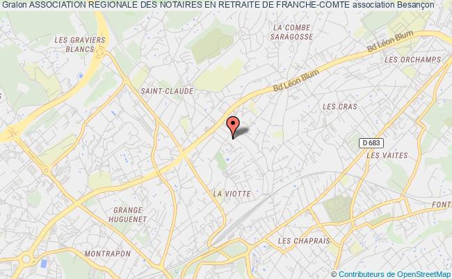 plan association Association Regionale Des Notaires En Retraite De Franche-comte