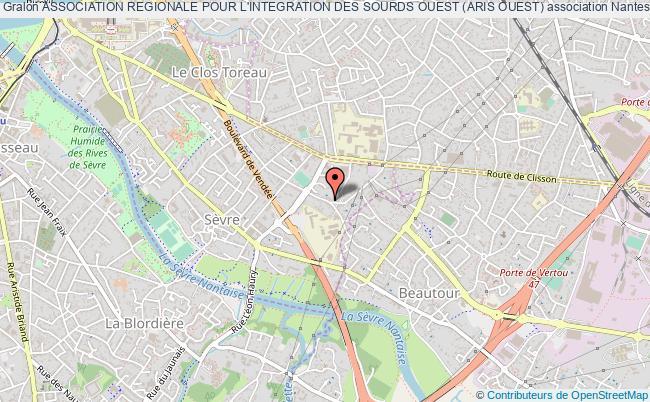 plan association Association Regionale Pour L'integration Des Sourds Ouest (aris Ouest)