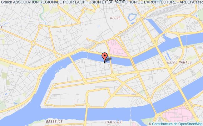 plan association Association Regionale Pour La Diffusion Et La Promotion De L'architecture - Ardepa